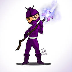Ninja Druid by LuhaBiha