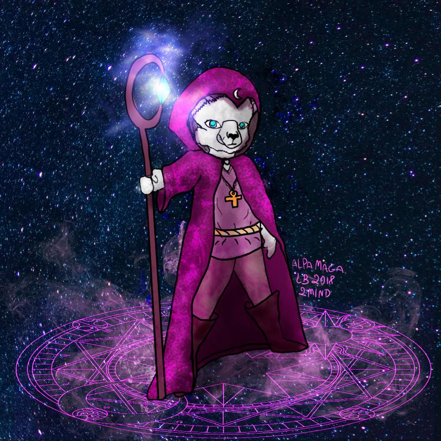 Apaca Magician by LuhaBiha