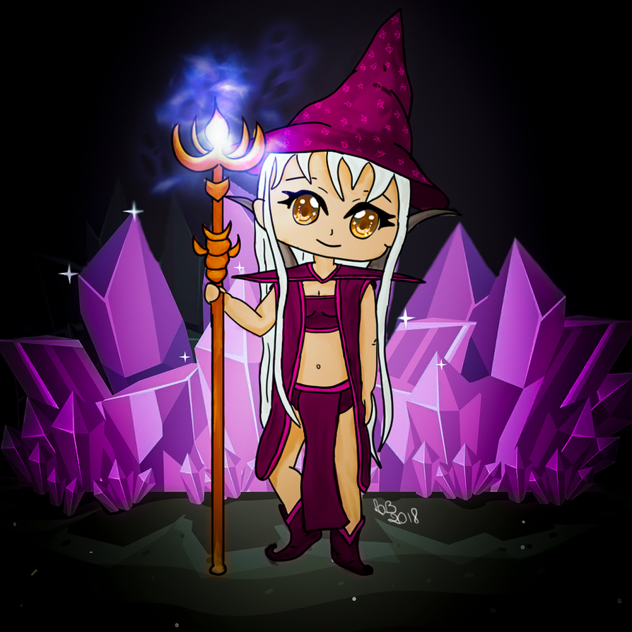 Conjurer female by LuhaBiha