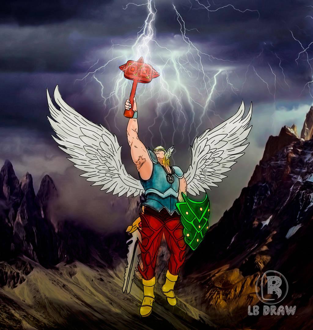 Knight Thunder by LuhaBiha