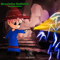 Bruxinha sedenta by LuhaBiha