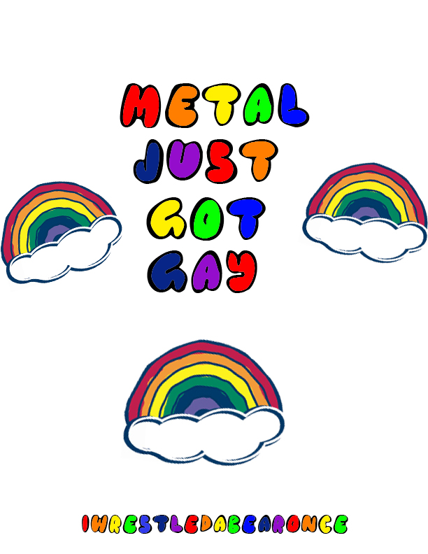 Nude gallery Metal just go gay