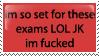 the exams by lauren-lovebites