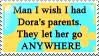 Dora's parents by lauren-lovebites
