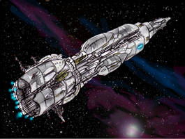 transport frigate by Zhectoid