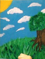 Oh dear it's a tree on a hill how original by PancakeTheBunny42