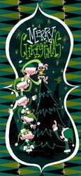 Christmas Card 2009 by kidoho