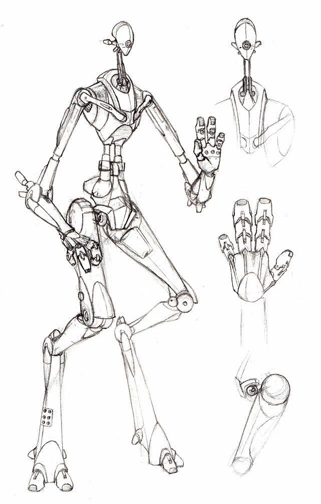 Humanoid Robot by kidoho