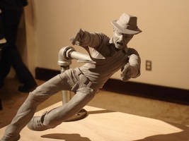 Noir Detective Maquette by kidoho