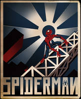 Spiderman cover by kidoho