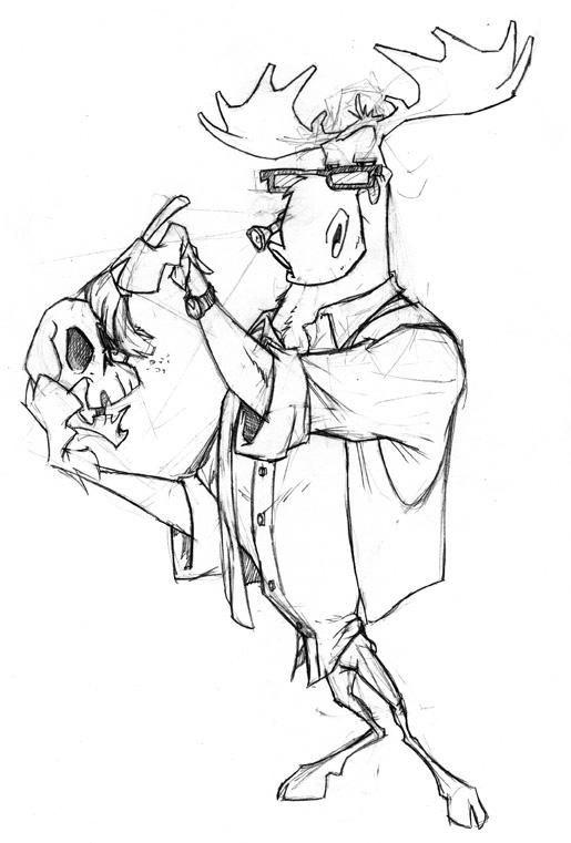 Mr Moose by kidoho