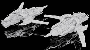 Gungnir-class Assault Carrier (Assault Mode)
