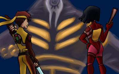 Yumi+Ulrich vs Kolossus