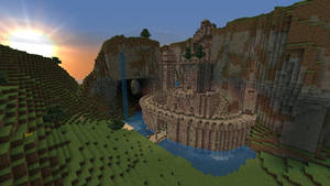 Minecraft - Fortress - Outside by Homunculus84