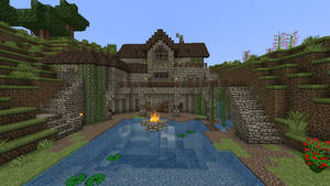 Minecraft - Pond house 2