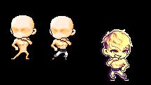 Muscular Fighting pose by BloodyKiki