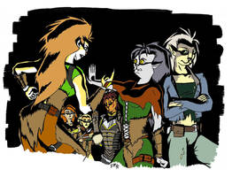 Daughters of Hralln 2 by RachelHWhite