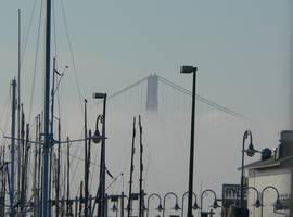 first sight of Golden Gate