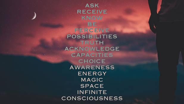 Access Consciousness Stream of Words