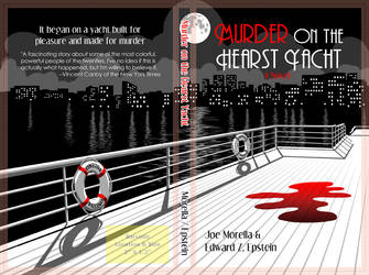 Murder on the Hearst Yacht book cover - print spec