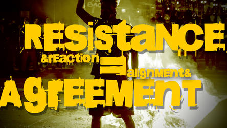 Resistance and Reaction video title card