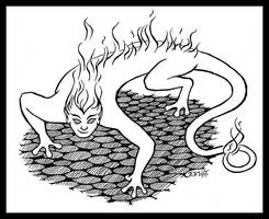 Salamander: Lord of Fire by RachelHWhite