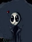 Cute masked man