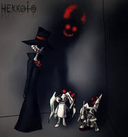 Fight in the dark room