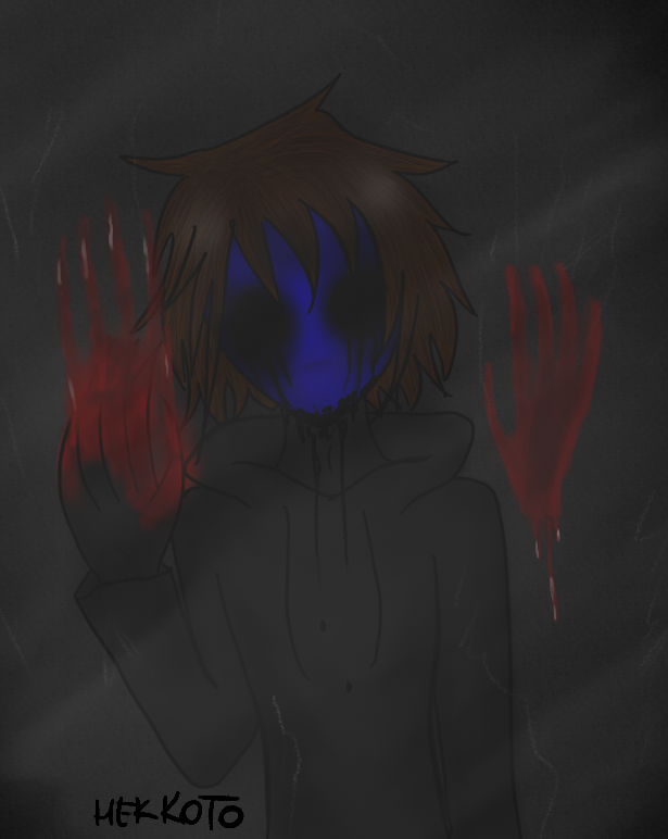 Eyeless Jack sees you by Hekkoto