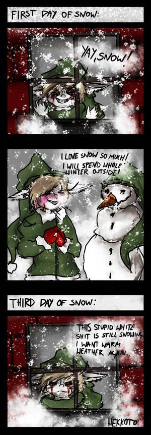 Snow - short comic