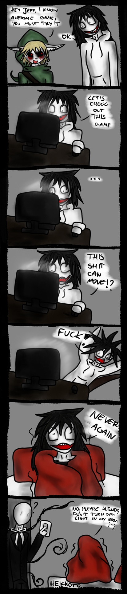 Jeff playing five nights at freddy s part 1 by hekkoto on deviantart