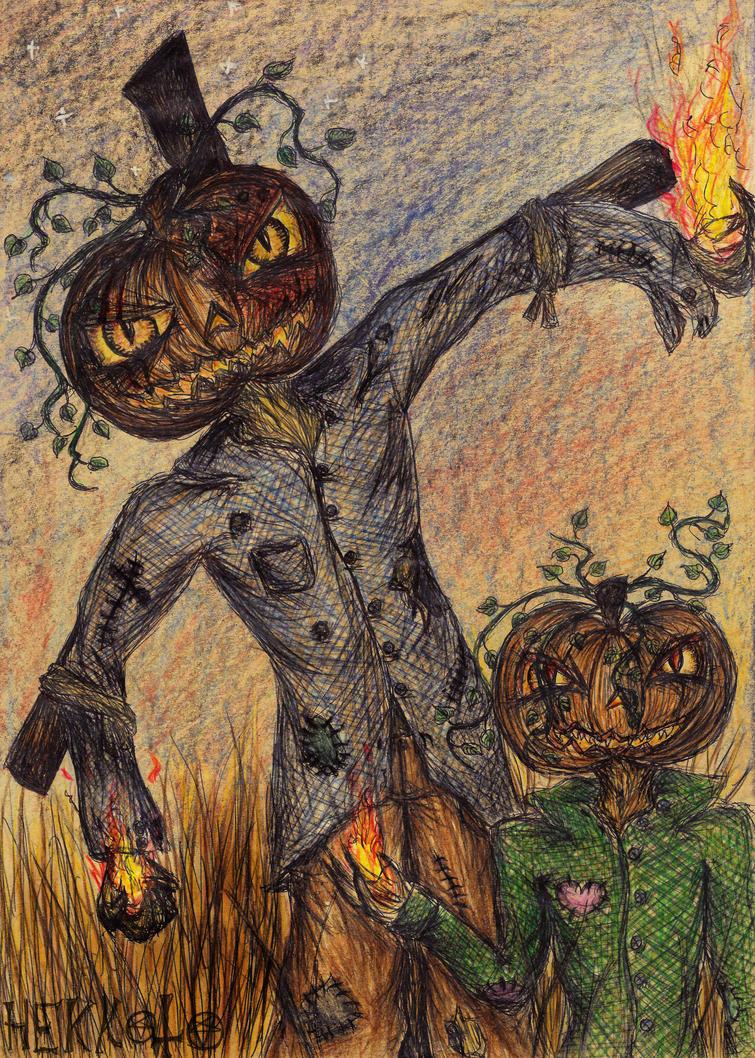happy halloween by hekkoto
