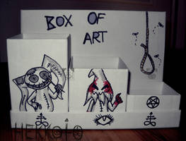 BOX OF ART by Hekkoto