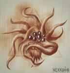 Tentacle Monster by Hekkoto