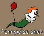 Day 110: Pennywise snek [365 days of snek Project]