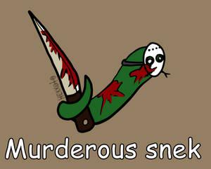 Day 112: Murderous snek [365 days of snek Project]