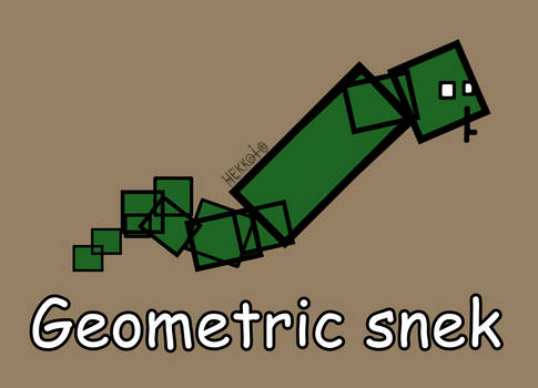 Day 114: Geometric snek [365 days of snek Project]