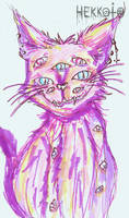 Day 51 - Pastel cat