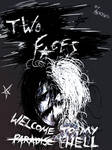Two Faces - Welcome To My Hell comic -COVER-