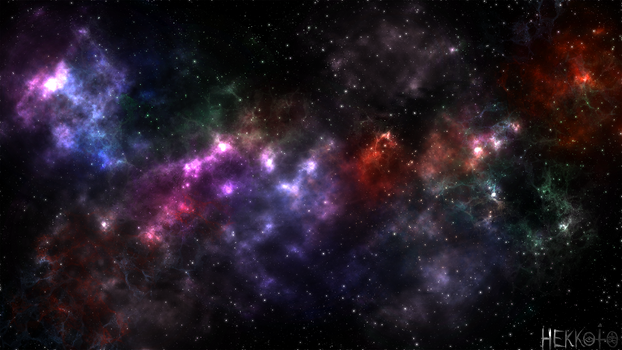Colours of space