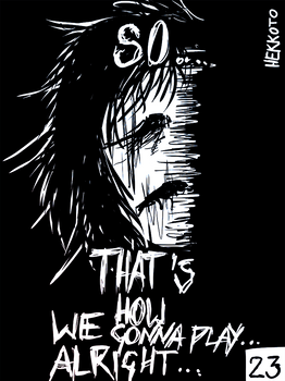 'Welcome to my HELL' comic -page 23-