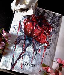 Bloody rose - DailyArt 41