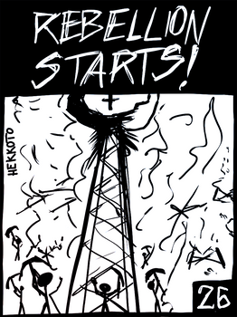 'Welcome to my HELL' comic -page 26-