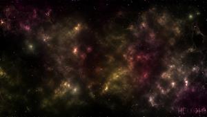 Golden nebula