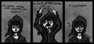 Weird noises at night comic