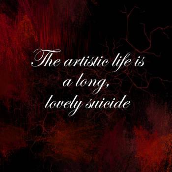 Artistic Life - Quote