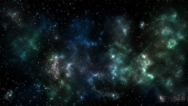 Stars in depth of abyss
