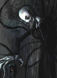 Slenderman, the tall monster