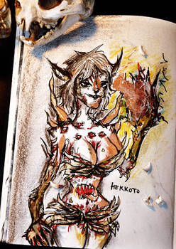 Demoness of bones