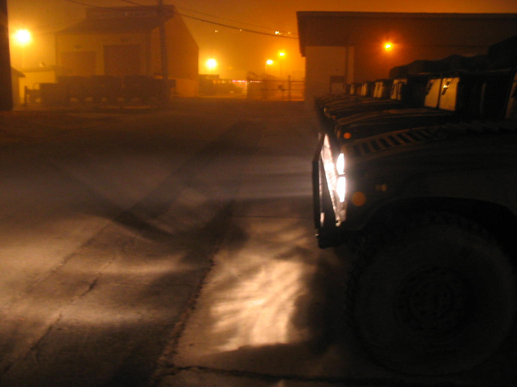 Vehicles In The Fog by zostix